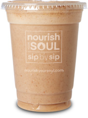 nourish your soul tropical smoothie 16 oz