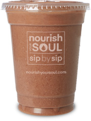 Chocolate Almond Butter Smoothie 16 oz.