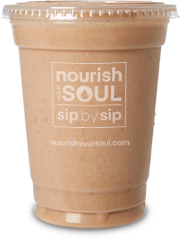 nourish your soul smoothie berry
